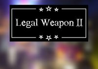 "Plakat ""Legal Weapon II"""
